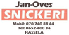 Jan-Oves Snickerier