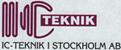Ic Teknik i Stockholm AB